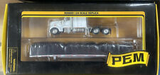 Tonkin Replicas Pem 1:64 Kenworth W/Flatbed Trailer and Load White Mib/New