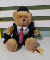 STANLEY THE STOCKBROKER THE TEDDY BEAR COLLECTION SOFT TOY PLUSH TOY 21CM SEATED