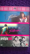 80s Chick Flicks -Flashdance/Footloose/Pretty in Pink Kevin Bacon, Discs Perfect