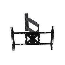 Black Universal Swing Arm TV Wall Bracket for 32 Inch - 63 Inch TVS
