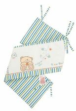 Forever Friends  Baby Nursery Boys Blue Star Cot Bed Bumper