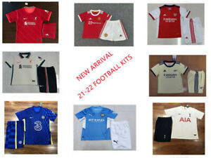 UK 21-22 Home Away Kits Kids & Adults Jersey Soccer Junior Shirt Training suit