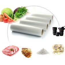 1Roll 100pcs Kitchen Vacuum Sealer Food Saver Storage Bag Fruit Veg Fresh Bag==
