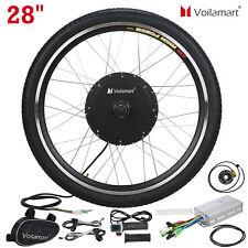 """28"""" Rueda Delantera Motor Bicicleta eléctrica kit de conversión Bicicleta Ciclismo Hub 48V 1000W"""