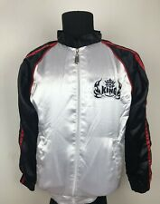 Top King Boxing Track Jacket Men's Size S Rare MMA Muay Thai Box Training Top