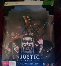 Injustice Gods Among Us Collectors edition Xbox 360