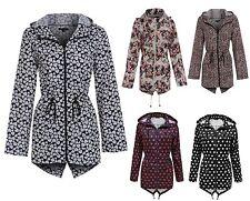 Brave Soul Hip Length Floral Coats & Jackets for Women