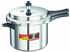 Prestige Popular Plus Induction Base Aluminium Pressure Cooker, 5 Litres