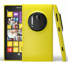 Nokia Lumia 1020 (RM-877) -32GB -Unlocked Smartphone Yellow + Silicon Case Black