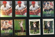 PAYNE STEWART GOLF CARD LOT - 8 CARDS