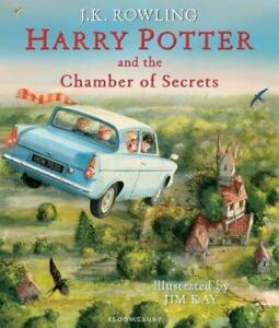 Illustrated Harry Potter 02: Harry Potter And The Chamber Of Secrets