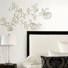Stilizzato Rose 33 elementi tatuaggio parete riutilizzabile RoomMates 31536