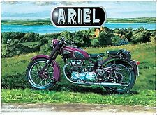 Ariel Motorcycle small steel sign 200mm x 150mm (og)