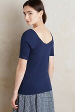Postmark for Anthropologie Suki Tee in Blue-Large
