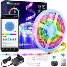 LED Strip DreamColor 5M RGBIC Smart Farbwechsel Musik Streifen Lichterkette