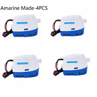 Automatic Submersible Boat Bilge 4PC 12V 750GPH Water Pump Built-in Float Switch photo