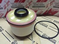 1PC TOYOTA HILUX FORTUNER 2005-14 GENUINE FUEL FILTER PART NUMBER 23390-YZZA1