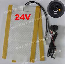 AutoSitzheizung Universal Nachrüstsatz Carbon,1 pcs,24V round switch switch,DE