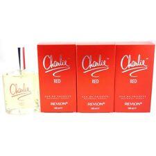 2x Charlie Red Von Revlon Eau De Toilette 100ml 1. Version