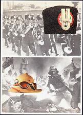 CARABINIERI, COLBACCO PELLICCIA DI AGNELLINO (RODI) 1930, CASCO COLONIALE 1935