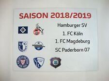 Update-Set 2.Bundesliga Magnettabelle 18/19 Tabelle DFL 2018/2019 2.Liga HSV