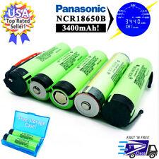 Panasonic NCR18650B 3.7V Li-Ion Rechargeable Batteries - Fully Tested 3400mAh!