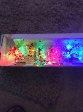 IN ORIGINAL BOX UNBRANDED EIGHT SNOWMEN ELECTRIC CHRISTMAS LIGHTS