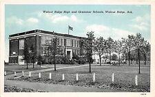 C66/ Walnut Ridge Arkansas AR Postcard c40s High School Grammar School
