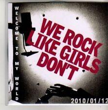 (AK979) We Rock Like Girls Don't, Welcome To My - DJ CD