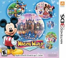 Disney Magical World 3DS NEW SEALED Nintendo