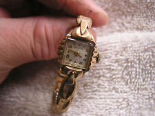 Vintage Bulova L6 Ladies Women's Watch 17 Jewels 6BL