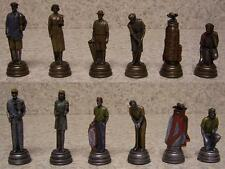 Chess Set Pieces sports Golf past and present NIB
