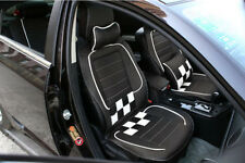 Black and white Microfiber upper leather car seat cover for Kuga Cruze
