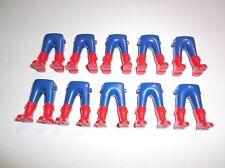 Playmobil 10 Ritter Garde Soldaten Beine blau rote Stiefel