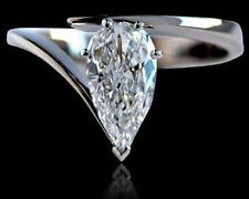 Natural (Finished) Pear Loose Diamonds
