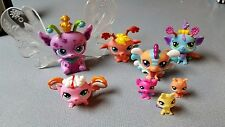 LITTLEST PET SHOP MAJESTIC MASQUERADE 8 FAIRIES EMPRESS QUEEN LIGHT UP FAIRY LPS