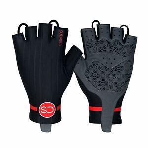 Sundried Pro Padded Fingerless Cycle Gloves Road Bike MTB Men's and Women's