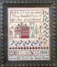 Jenny Bean's Christmas Sampler Shakespeare's Peddler Cross Stitch Pattern