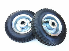 "2 pc x 2.5 "" - 4 ""  x (8"") PNEUMATIC WHEEL""S Tyre (19mm centre ) -BRAND NEW"