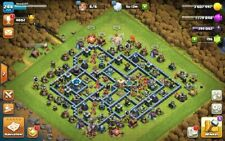 Clash of Clans full max th13 account level 244