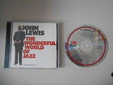 CD Jazz John Lewis - Wonderful World Of Jazz (7 Song) ATLANTIC JAZZ WARNER
