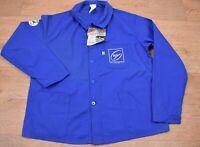 Vtg DEADSTOCK French EU Worker CHORE Work Shirt Jacket - XL #606 UNWORN VTG