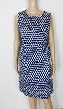 JOULES~Klassiches Kleid Laura  blau weiß gepunktet  ~ NEU Gr 40 L 900