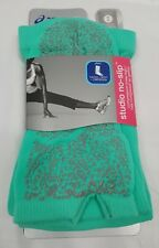 ASICS Womens Studio No-Slip Compression Knee High TEAL