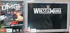 WWE Wrestlemania Legacy (2012, 2013, 2014 & 2015) Bonus OMG DVD 14 Discs
