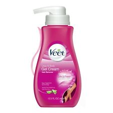 New Veet Aloe Vera Hair Remover Legs & Body Gel Cream 13.5 Oz.
