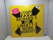 STOP RICHARD - X VS LIBERTY X BEING NOBODY VIRGIN RXT1 12'' LPs VINYL