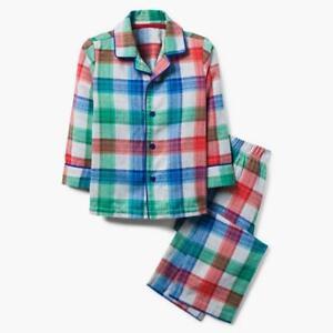 NWT Gymboree Christmas Plaid Boys Girls Pajama Set Holiday many sizes