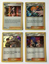 Pokemon TCG Card - 4x Rare Holo Trainer - Marnie, Brock, Misty + NM - 1¢ start!