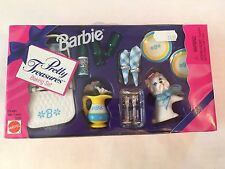 Barbie Doll Pretty Treasures Baking Accessories Picnic Dining Set #13760